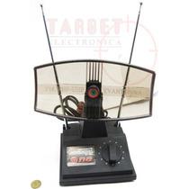 Antena Tv Uhf Vhf Y Fm Radio Tipo Radar, Canal De Aire Y Tda