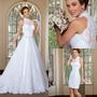 Vestido Noiva Importado Civil Igreja Casamento Sob Confecção