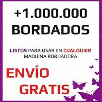 1.000.000 Bordados Cualquier Bordadora Tajima Brother Janome