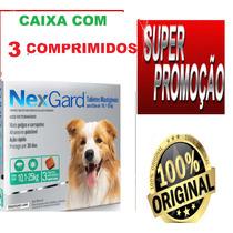 Nexgard Antipulgas E Carrapatos Caes De 10 A 25kg