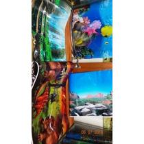 Papel Fotográfico Decorativo Aquários,paredes,madeira,vidros