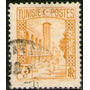 Túnez Un Sello Usado Mezquita Año 1931
