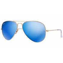 Gafas De Sol Ray Ban Rb3025 112/17 Espejo Original Aviador