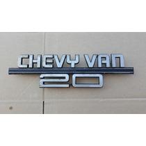 Chevy Van 20 Emblema 15640709