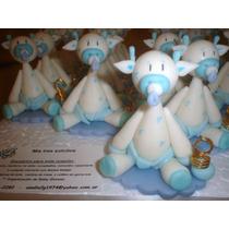 20 Hermosas Jirafitas En Porcelana Fría!!!
