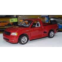 1:21 Ford Svt F150 Lightning 1999 Roja Maisto 1:18 Lobo
