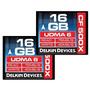 Delkin 16 Gb Cf 500x Udma 6 Memory Card, 2 Pack (ddcf Gb(2x