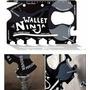 Tarjeta Wallet Ninja Multiuso 18 Herramientas En 1 Portatil
