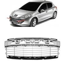 Grade Parachoque Dianteiro Peugeot 207 Ano 2008 A 2013 Prata
