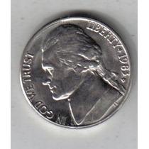 Estados Unidos Moneda De 5 Cents Año 1983 D !!