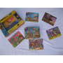 Antiguo Rompecabezas Edukit Juego De Mesa Cubos 6 Figuras