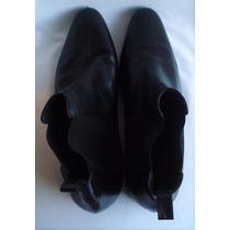 Botas De Vestir Color Negro El Burgués Talle 3