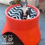 Cama + Escondite Reversible Para Gatos Think Animal