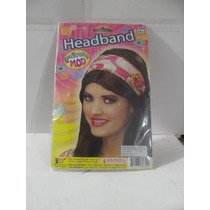 Dr.veneno Disfraz Diadema Retro Headband 60