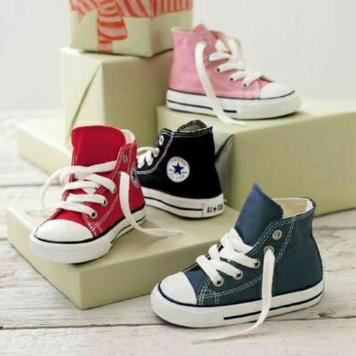 d1b336a18 Baby Converse. Tenis Bebe Niño Y Niña .a Meses Sin Intereses -   790.00 en  Mercado Libre