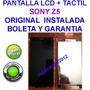 Pantalla Lcd + Tactil Sony Xperia Z5 Instalada Original