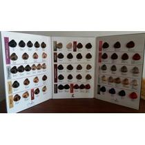 Tabela Cartela De Coloração Lissé Cabelo Humano As Mechas