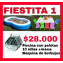 Arriendo Piscina Con Pelotas, Juegos Inflables, Mobiliario.