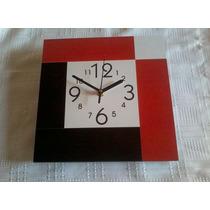 Reloj De Pared 25x25- Moderno-cocina-minimalista-fabrica!!!