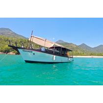Barco De Madeira, Turismo, Passeio, Pesca, Em Ótimo Estado