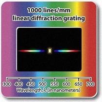 Rejilla De Difracción Diapositivas-lineal 1000 Líneas / Mm