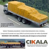 Encerado Caminhão Lona Algodão Impermeavel Resistente 6x3 M