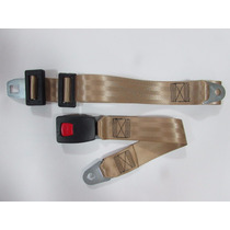 Cinto De Segurança Automotivo Abdominal - Bege