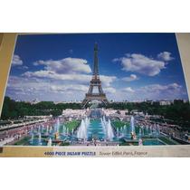 Rompecabezas Puzzle 4000 Piezas Torre Eiffel Paris Francia