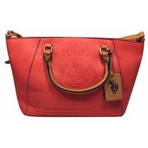 Bolsa U.s Polo Média - Canvas Handbag U.s. Polo Logo