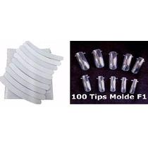 10 Lixas Banana 100/180 + 100 Molde F1 Dual Form Porcelana