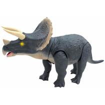 Mighty Megassauro Triceratops Dinossauro Original Dtc