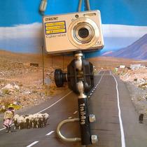 Soporte De Camara De Fotos O Video Para Moto Cuatri O Bici