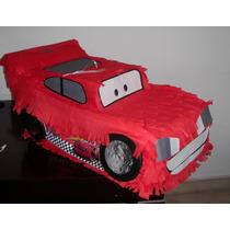 Piñatas Infantiles Cars, Rayo Mc Queen Cumpleaños!