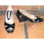 Feria Americana-zapatos Charol Negros Nº 37