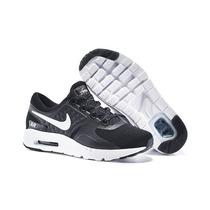 Zapatillas Nike Air Max Zero Negras Hombre Originales 2017