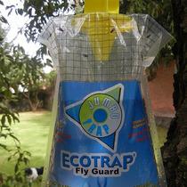Trampa Atrapa Moscas Sin Pesticidas Jumbo Paquete De 10 Pzas