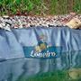 Lona 10x5 Lago Tanque Criação De Peixe Capa Manta Pppe Az/cz