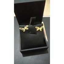 Brinco Vivara Borboleta Ouro Amarelo - Coleção Pupa (hstern)