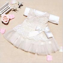 Vestido Beba Bebé Importado, Fiesta, Casamiento, Eventos