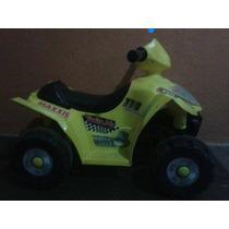 Vendo Moto Eléctrica Para Niños 4 Ruedas Cargador Y Bateria