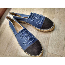Alpargata / Espadrille,marca Famosa Luxo, Azul Jeans #schutz