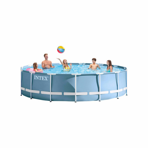 Alberca piscina estructural circular intex m x m for Piscina estructural intex