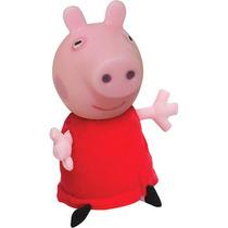 Boneca Infantil Vinil Peppa Pig Discovery Kids Estrela