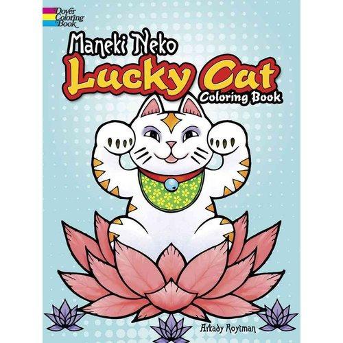 Gato De La Suerte Maneki Neko Para Colorear Libro - $ 47.111 en ...