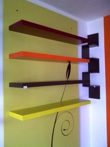 Estantes y repisas decorativas 290 00 en mercado libre - Repisas de pared modernas ...