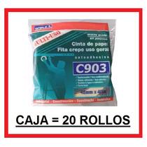 Cinta De Papel, Enmascarar, Caja 20 Rollos - 48mm - Doble A
