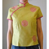 Camisa Japonesa Como Nueva