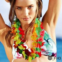 Collar Hawaiiano Fiesta Animacion Articulos Sombreros Peluca