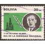 Bolivia Año 1970 Serie De 1v.yvert Aerea N°290 Usada