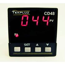 Controlador Digital De Temperatura 48x48 Com 1 Display